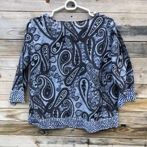 Anthropologie Tops - Anthropologie | Manglam Paisley Print Top Size L